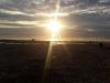 Sonnenuntergang in Porthtowan.