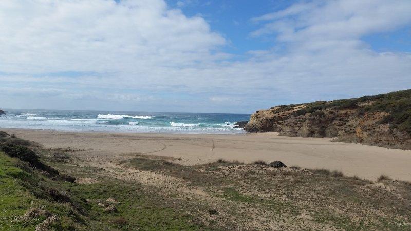 Die Rota Vicentina verlassen und mit der CityMap2Go geführt an die Praia da Muracao.