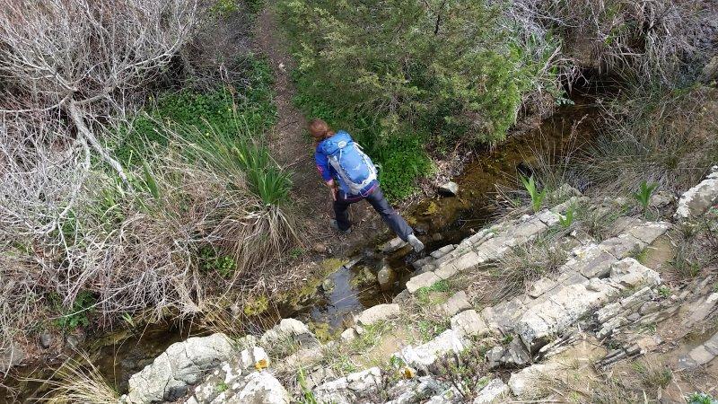 Wiedereinmal den Fischerpfad verlassen und ab durch die Büsche.