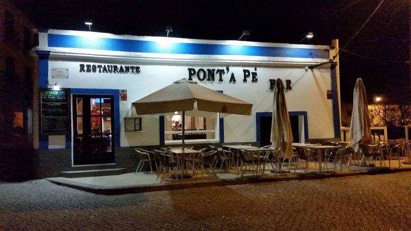 Eines unserer Restaurant-Highlights in Aljezur.