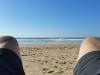 Picknick und Siesta mit Meerblick.