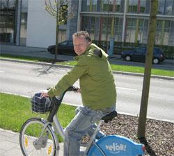 Stadtbesichtigung mit Fahrrad von veloh