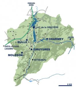 Gruyere-Karte