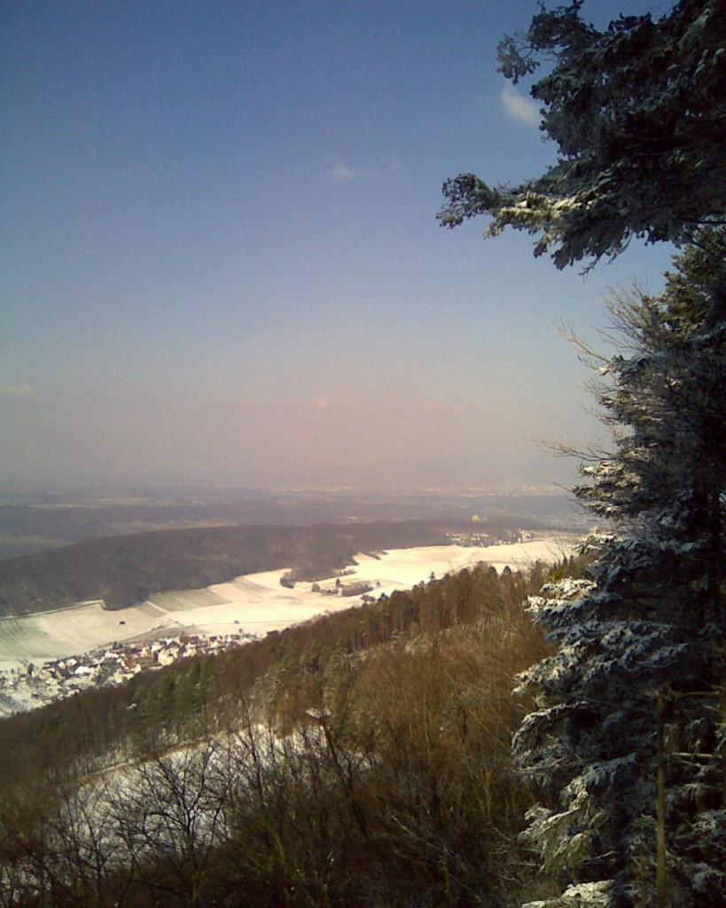Wanderung Blauen Winter 40