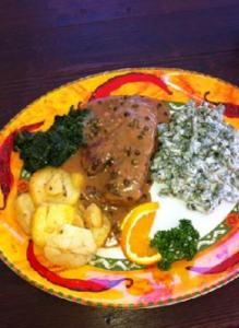 Filet al Pepe im Il Ristorante Cenacolo