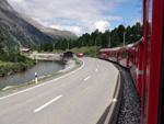 Mit der RhB nach St. Moritz