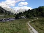 Richtung Berninapass