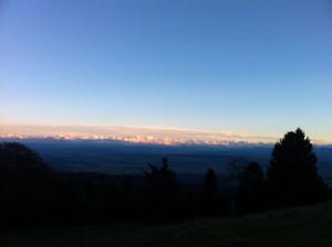 Wunderschöne Aussicht vom Mont Sujet (Berner Jura).