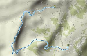 Bärentritt Braunwald - Wanderung.
