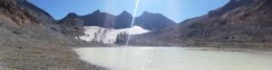 Gletschersee von Vadret d'Agnel - Jenatschhütte